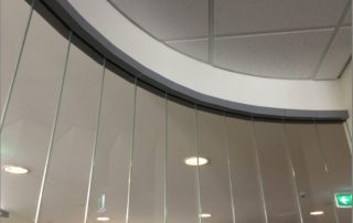 Curved Partition Detail 2